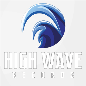 High Wave Records Logo Transparant